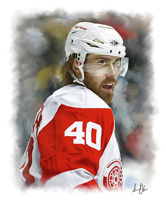 Photograph - Hank Zetterberg by Don Olea