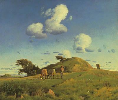 Painting - Hankehoj by Treasury Classics Art