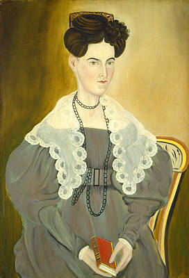 Painting - Hannah Fisher Stedman by Asahel Powers