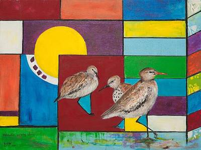 Painting - Hannah's Building Blocks by Sierra Logan