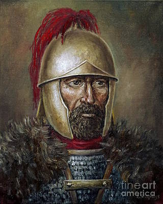 Painting - Hannibal Barca by Arturas Slapsys