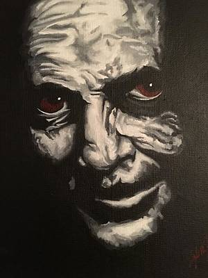 Anthony Hopkins Painting - Hannibal Lecter by Kyle Jewell