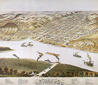 Photograph - Hannibal, Missouri, 1869 by Granger