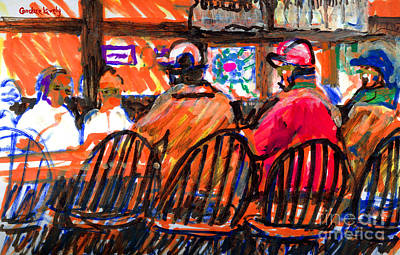 Painting - Hannibals Bar Nantucket by Candace Lovely