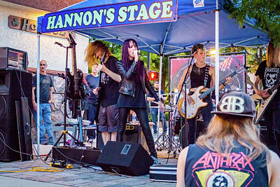 Photograph - Hannon's Stage by Jeanette Fellows