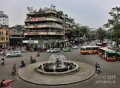 Kiem Photograph - Hanoi French Quarter I by Chuck Kuhn