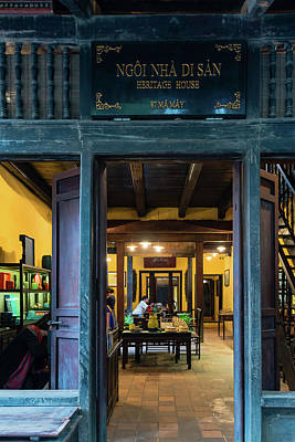 Photograph - Hanoi Heritage House by Steven Richman