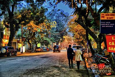 Photograph - Hanoi Lights by Rick Bragan