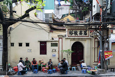 Photograph - Hanoi Old Quarter 1 by Steven Richman
