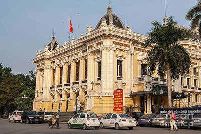 Photograph - Hanoi Opera House 04  by Rick Piper Photography