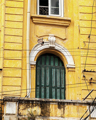 Photograph - Hanoi Shophouse Windows 02  by Rick Piper Photography
