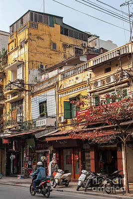 Photograph - Hanoi Shophouses 10  by Rick Piper Photography