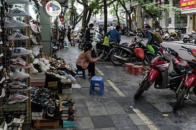 Photograph - Hanoi Street Scene 1 by Steven Richman