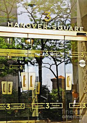 Photograph - Hanover Square by Sarah Loft