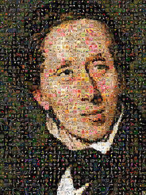Digital Art - Hans Christian Andersen by Gilberto Viciedo