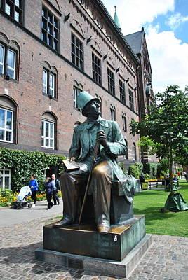 Photograph -  Hans Christian Andersen by Jacqueline M Lewis