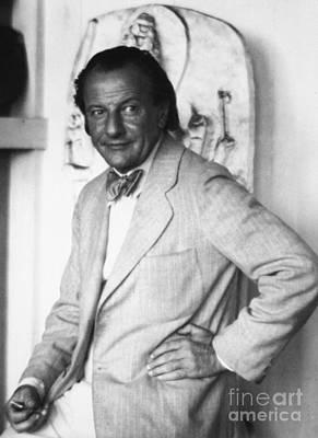 Hans Hofmann (1880-1966) Art Print by Granger