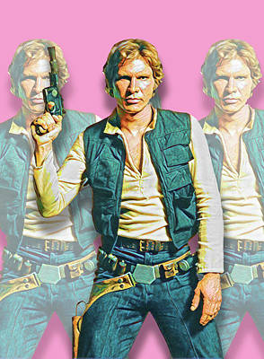 Digital Art - Hans Solo by Gary Grayson