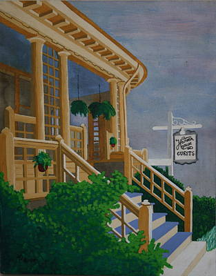 Painting - Hansen House by Paul Amaranto