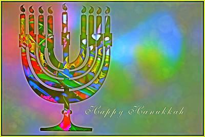 Hanukkah Digital Art - Hanukkah  by Mindy Newman