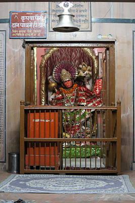 Ashram Wall Art - Photograph - Hanuman Ji, Neem Karoli Baba Ashram, Vrindavan by Jennifer Mazzucco