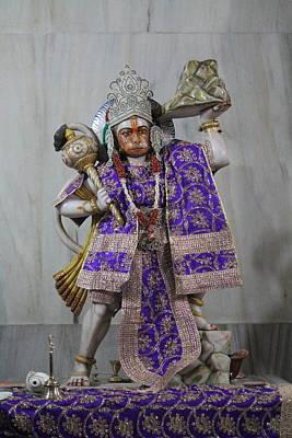 Hanuman Ji, Neem Karoli Baba, Vrindavan Art Print by Jennifer Mazzucco
