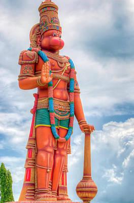Photograph - Hanuman Murti 1 by Nadia Sanowar