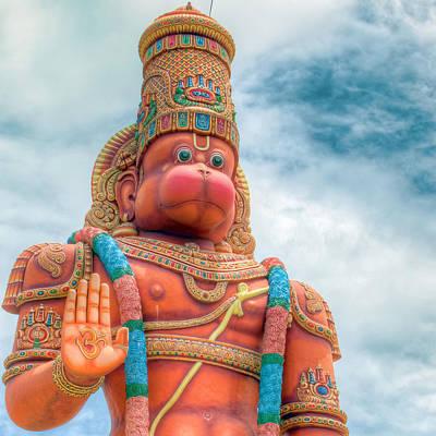 Photograph - Hanuman Murti 2 by Nadia Sanowar