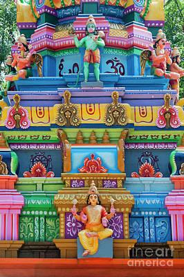 Photograph - Hanuman Temple by Tim Gainey