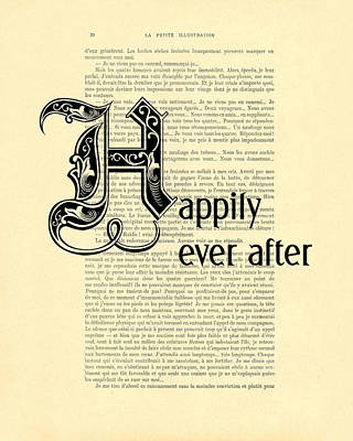 Happily Ever After Print by Madame Memento