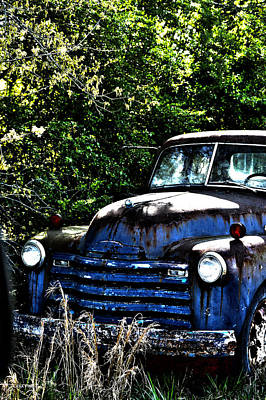 Vintage Chevrolet Photograph - Happily Retired Pop by Lesa Fine
