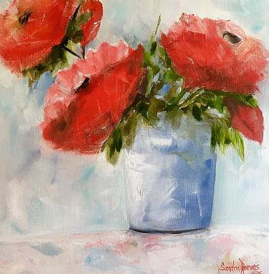 Painting - Happiness In A Pot by Sandra Reeves