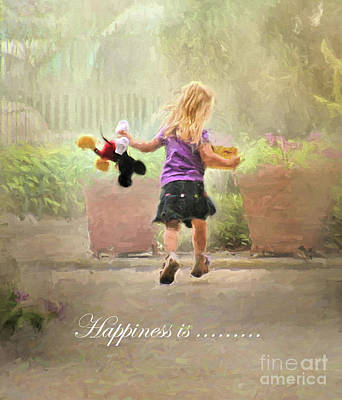 Photograph - Happiness Is ... by Clare VanderVeen