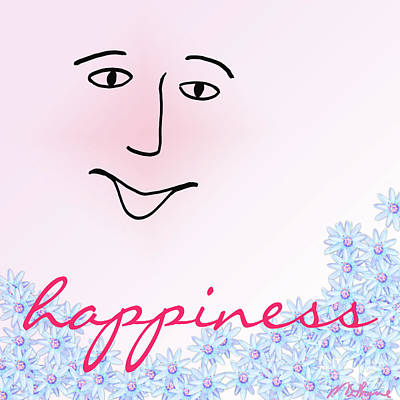 Digital Art - Happiness by Methune Hively