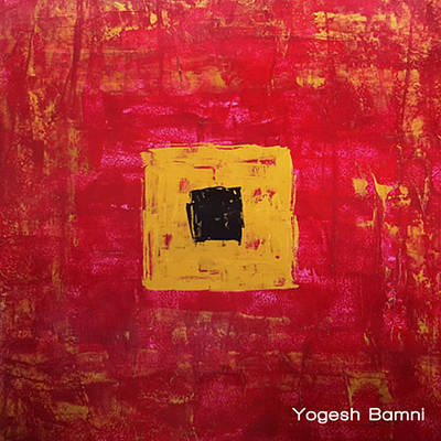 Hyderabad Artist Painting - Happiness Of Being Alone by Yogesh Bamni