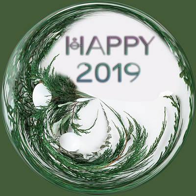 Digital Art - Happy 2019b by Ericamaxine Price
