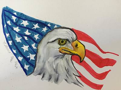 Painting - Happy 4th Of July by Charme Curtin