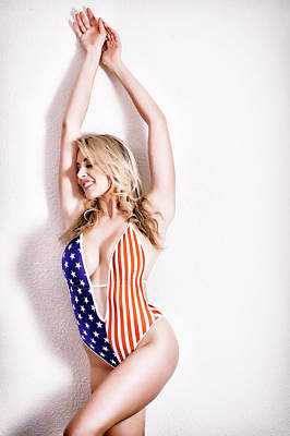Photograph - Happy 4th Of July #christina #print by ItzKirb Photography