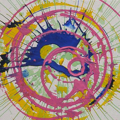 Happy Art Print by Michael Palmer