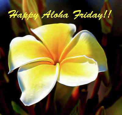 Photograph - Happy Aloha Friday by Pamela Walton