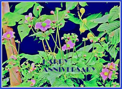 Painting - Happy Anniversary by Mindy Newman