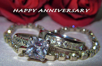 Photograph - Happy Anniversary by Pamela Walton