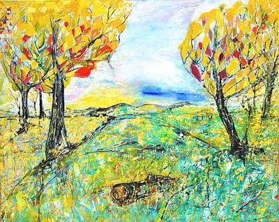 Painting - Happy Autumn by Evelina Popilian
