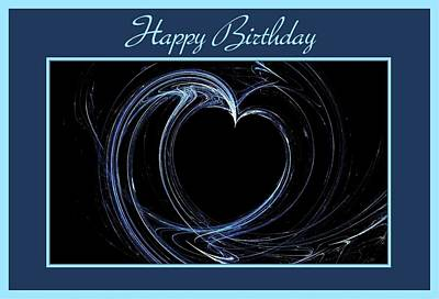 Digital Art - Happy Birthday Card 1 by Angie Tirado
