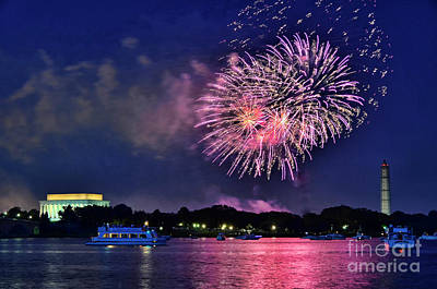 Photograph - Happy Birthday America # 2 by Allen Beatty