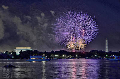 Photograph - Happy Birthday America # 3 by Allen Beatty