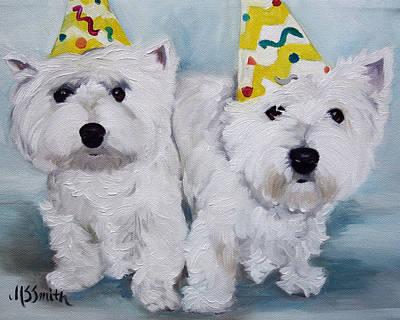 Happy Birthday Art Print by Mary Sparrow