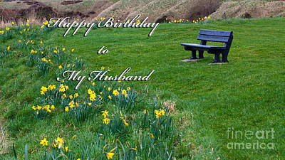 Photograph - Happy Birthday Husband by Diane Macdonald