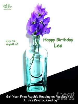 Photograph - Happy Birthday Leo by Beauty For God
