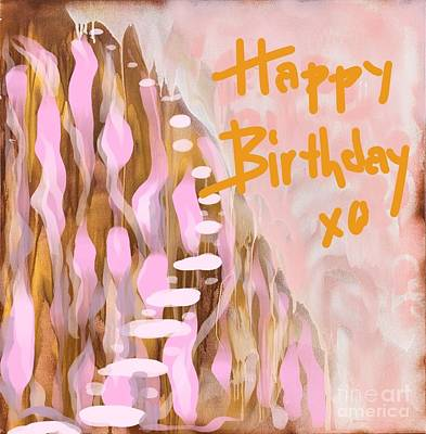 Painting - Happy Birthday by Sheila McPhee